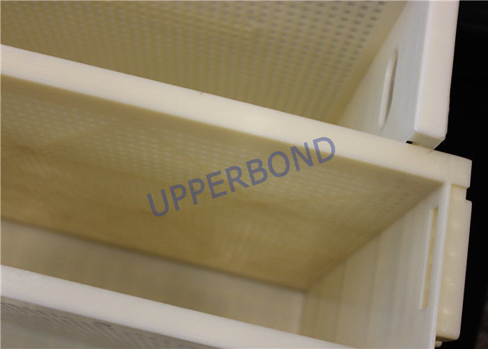 Wear Proof Yellow Cig Loading Tray Safely For Cigarette Packing Machine