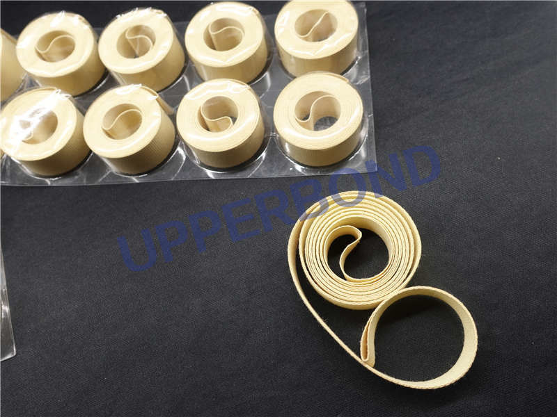 Customized Size Cigarette Making Machine Spare Parts Nylon Fabric Tape